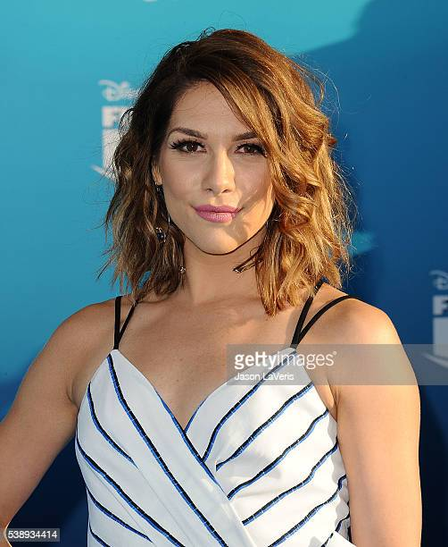 """Dancer Allison Holker attends the premiere of """"Finding Dory"""" at the El Capitan Theatre on June 8, 2016 in Hollywood, California."""