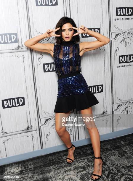 Dancer and actress Jenna Dewan visits Build Series to discuss 'World of Dance' at Build Studio on May 14, 2018 in New York City.