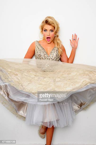 Dancer and actress Witney Carson is photographed for Beauty and Entertainment on November 18 2014 in Santa Monica California