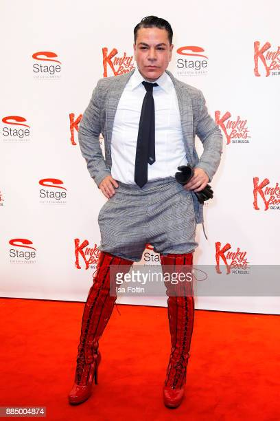 Dancer and choreographer Carlo Castro attends the 'Kinky Boots' Musical Premiere at Stage Operettenhaus on December 3 2017 in Hamburg Germany