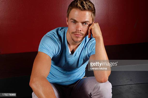 Dancer and choreographer Derek Hough is photographed for Los Angeles Times on July 23 2013 in Los Angeles California PUBLISHED IMAGE CREDIT MUST READ...