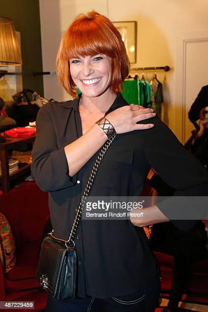 Dancer and Choreographer Fauve Hautot attends the 'Charriol' Ephemeral Boutique opening hosted by Nathalie Garcon at Nathalie Garcon store Galerie...