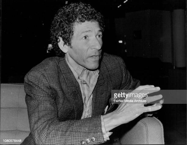 Dancer and Choreographer Francisco Moncion pictured at the Opera House today April 7 1978