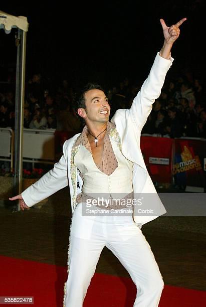 Dancer and choreographer Kamel Ouali arrives at the NRJ Music Awards 2004