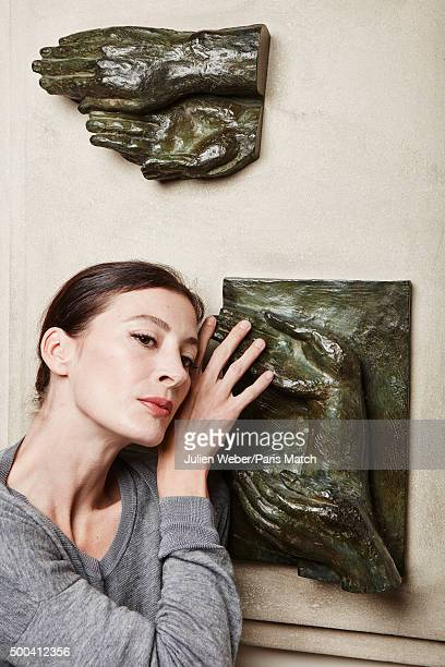 Dancer and choreographer MarieAgnes Gillot is photographed for Paris Match on October 5 2015 in Paris France