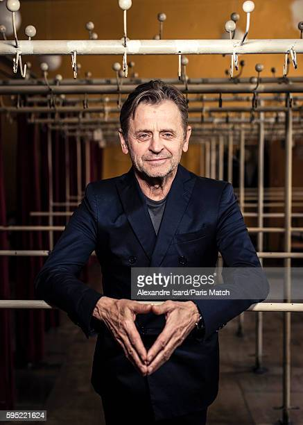 Dancer and choreographer Mikhail Baryshnikov is photographed for Paris Match on May 23 2016 in Riga Latvia