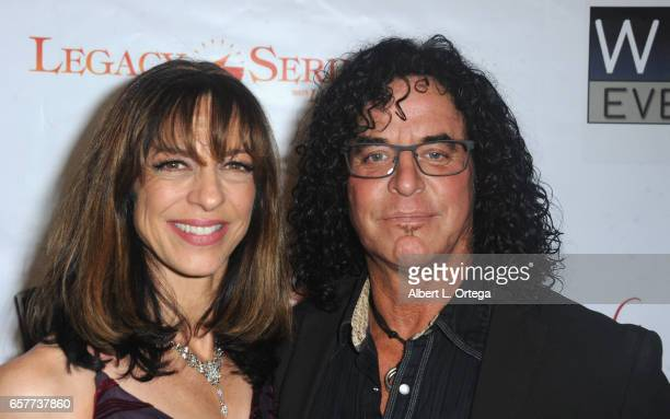 Dancer Andre Paradis and Nancy Paradis arrive for the Whispers From Children's Hearts Foundation's 3rd Legacy Charity Gala held at Casa Del Mar on...