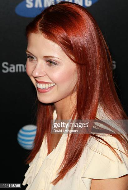 Dancer Anna Trebunskaya attends the Samsung Infuse 4G launch event featuring Nicki Minaj at Milk Studios on May 12 2011 in Los Angeles California