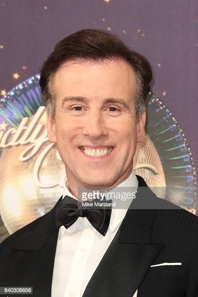 Dancer Anton Du Beke attends the 'Strictly Come Dancing 2017' red carpet launch at The Piazza on August 28 2017 in London England