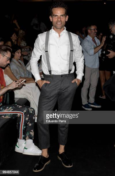 Dancer Antonio Najarro attends Devota Lomba show at Mercedes Benz Fashion Week Madrid Spring/ Summer 2019 on July 9 2018 in Madrid Spain on July 9...