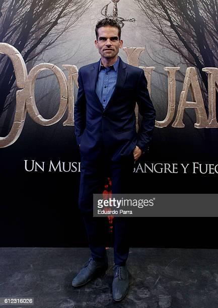 Dancer Antonio Najarro attends the 'El musical de Don Juan' photocall at La Luz theatre on October 3 2016 in Madrid Spain