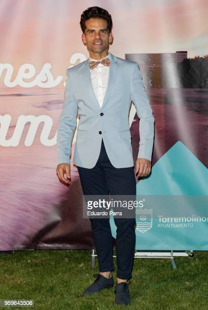 Dancer Antonio Najarro attends the 'International Day Against Homophobia' photocall at Italian Embassy on May 17 2018 in Madrid Spain