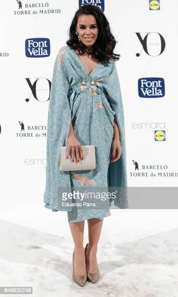 Dancer Beatriz Luengo attends the 'Yo Dona MBFW opening party' photocall at Barcelo hotel on September 13 2017 in Madrid Spain