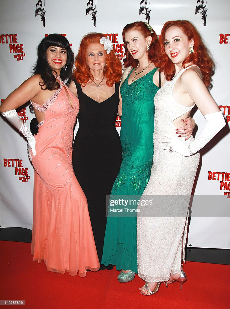 """""""Bettie Page Reveals All"""" Documentary Film Premiere : News Photo"""