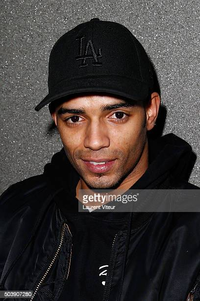 Dancer Brahim Zaibat attends the Launch of Kelly Vedoveli's blog at Bridge Club on January 7 2016 in Paris France