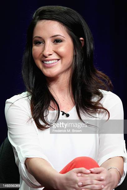 Dancer Bristol Palin speaks onstage at the Dancing with the Stars AllStars panel during the Disney/ABC Television Group portion of the 2012 Summer...
