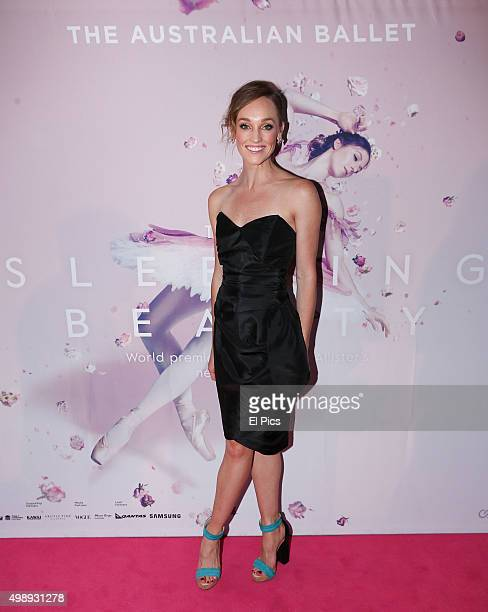 Dancer Brooke Lockett attends the Australian Ballet Sleeping Beauty Opening Night on November 27 2015 in Sydney Australia
