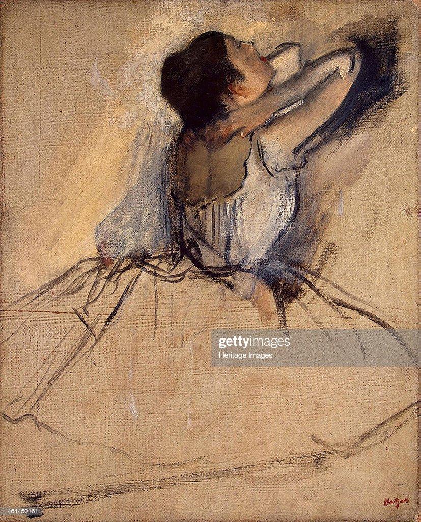 Dancer, c. 1874. Artist: Degas, Edgar (1834-1917) : News Photo
