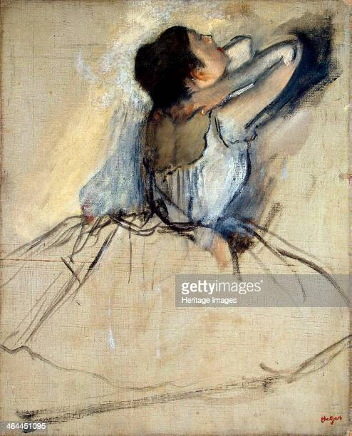 'Dancer' c1874 Degas Edgar Found in the collection of the State Hermitage St Petersburg