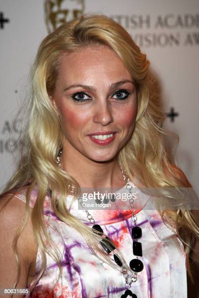 Dancer Camilla Dallerup attends the British Academy Television And Craft Awards Nominees Reception at the Landmark Hotel on April 10 2008 in London...