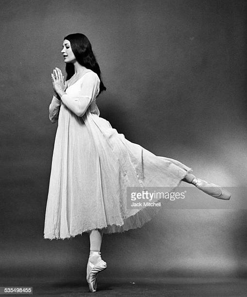 Dancer Carla Fracci, 1967.