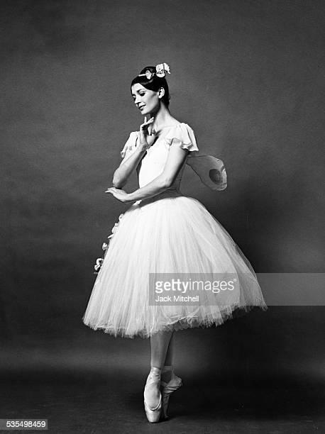 Dancer Carla Fracci, 1977.