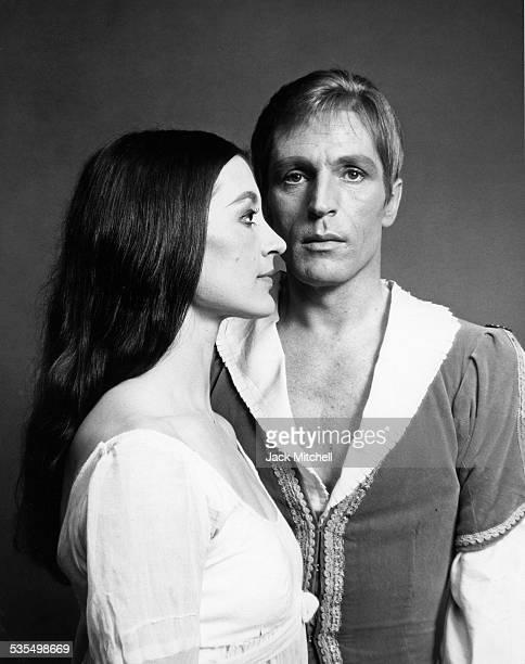 Dancer Carla Fracci performing with Erik Bruhn, 1967.