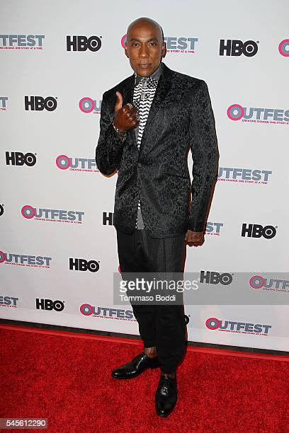 Dancer Carlton Wilborn attends the Outfest 2016 Screening of Strike A Pose held at Harmony Gold Theatre on July 8 2016 in Los Angeles California