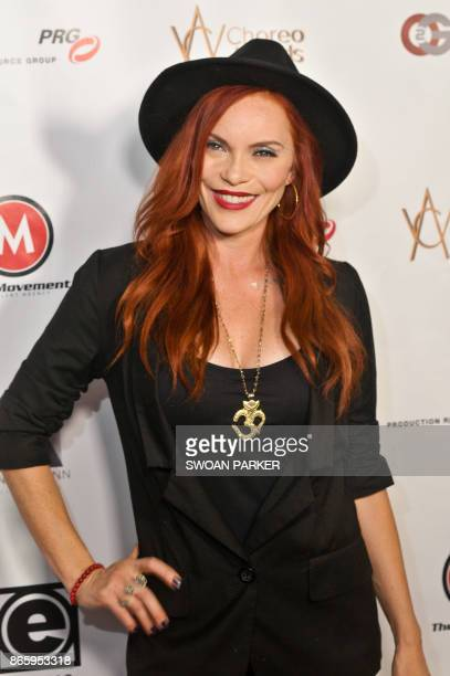 Dancer Carmit attends the 7th Annual World Choreography Awards at Saban Theatre on October 23, 2017 in Beverly Hills, California.