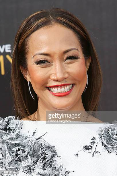 Dancer Carrie Ann Inaba attends the 2016 Creative Arts Emmy Awards Day 2 at the Microsoft Theater on September 11 2016 in Los Angeles California