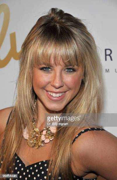 Dancer Chelsie Hightower attends the birthday celebration for Dancing with the Stars Derek Hough and Mark Ballas at H Lounge on May 17 2010 in Los...