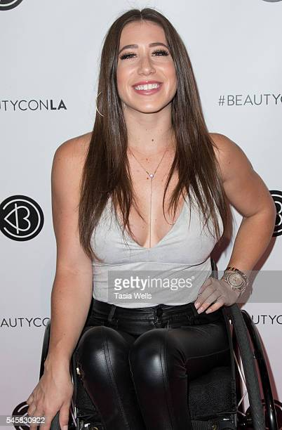 Dancer Chelsie Hill attends the 4th Annual Beautycon Festival Los Angeles at the Los Angeles Convention Center on July 9 2016 in Los Angeles...