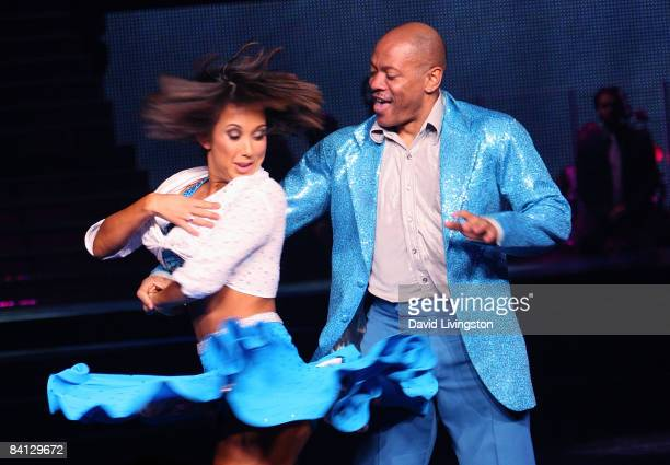2ed7a93923490 Dancer Cheryl Burke and Olympic champion Maurice Greene perform during  Dancing with the Stars The Tour