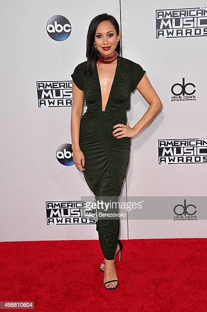 Dancer Cheryl Burke arrives at the 2015 American Music Awards at Microsoft Theater on November 22 2015 in Los Angeles California