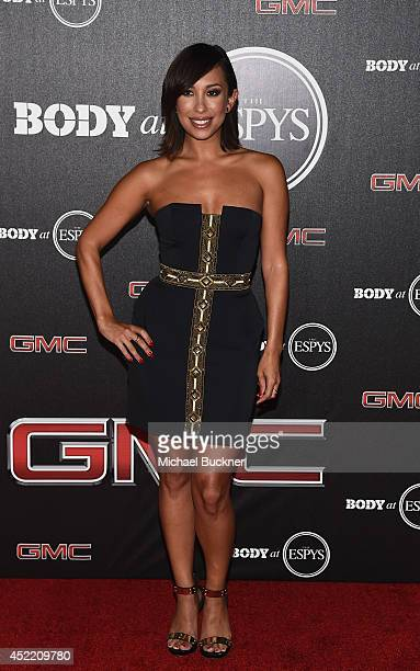 Dancer Cheryl Burke arrives at the ESPN's BODY at ESPY's PreParty at Lure on July 15 2014 in Hollywood California