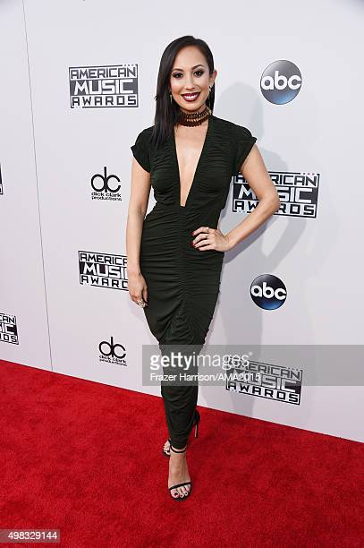 Dancer Cheryl Burke attends the 2015 American Music Awards at Microsoft Theater on November 22 2015 in Los Angeles California