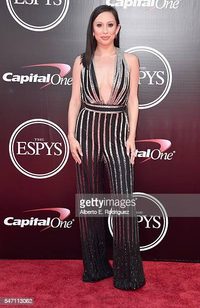 Dancer Cheryl Burke attends the 2016 ESPYS at Microsoft Theater on July 13 2016 in Los Angeles California