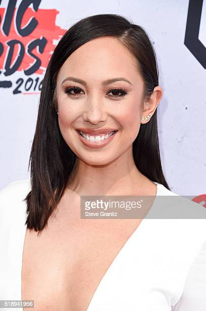 Dancer Cheryl Burke attends the iHeartRadio Music Awards at The Forum on April 3 2016 in Inglewood California