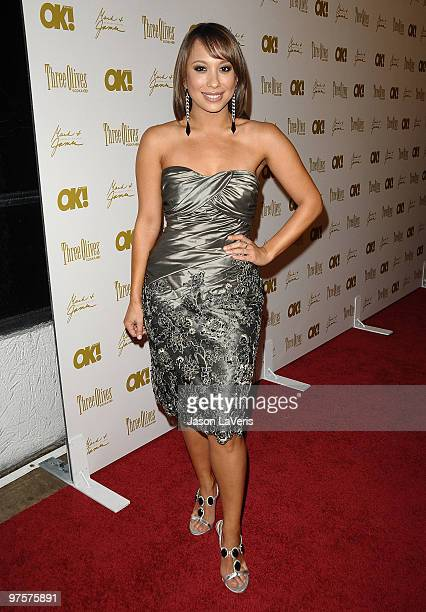 Dancer Cheryl Burke attends the OK Magazine preOscar party at Beso on March 5 2010 in Hollywood California