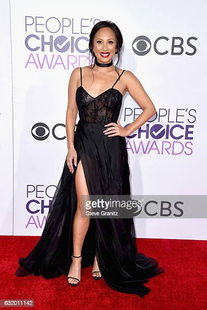 Dancer Cheryl Burke attends the People's Choice Awards 2017 at Microsoft Theater on January 18 2017 in Los Angeles California