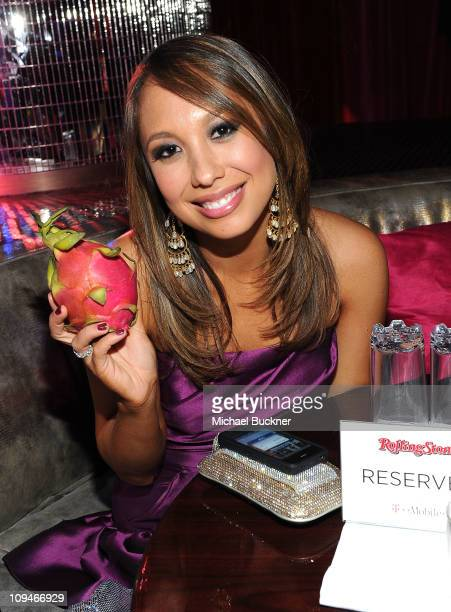 Dancer Cheryl Burke attends the Rolling Stone Awards Bash presented by Skyy Dragon Fruit and TMobile at Drai's Hollywood on February 26 2011 in...