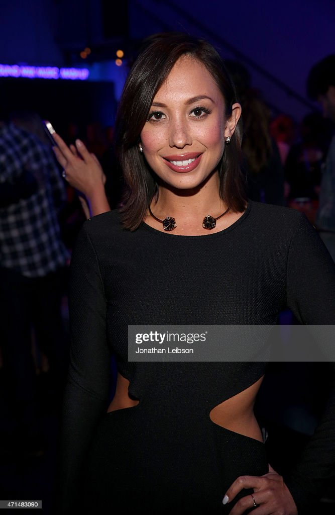 Dancer Cheryl Burke attends the Samsung Studio LA Launch Event across from the Grove on April 28, 2015 in Los Angeles, California.