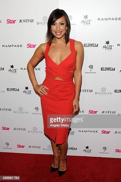 Dancer Cheryl Burke attends the Star Magazine Scene Stealers Event at Lure on October 9 2014 in Los Angeles California