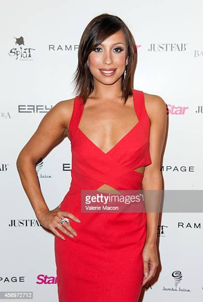 Dancer Cheryl Burke attends the Star Magazine's Scene Stealers Event at Lure on October 9 2014 in Los Angeles California
