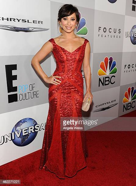 Dancer Cheryl Burke attends the Universal NBC Focus Features E sponsored by Chrysler viewing and after party with Gold Meets Golden held at The...