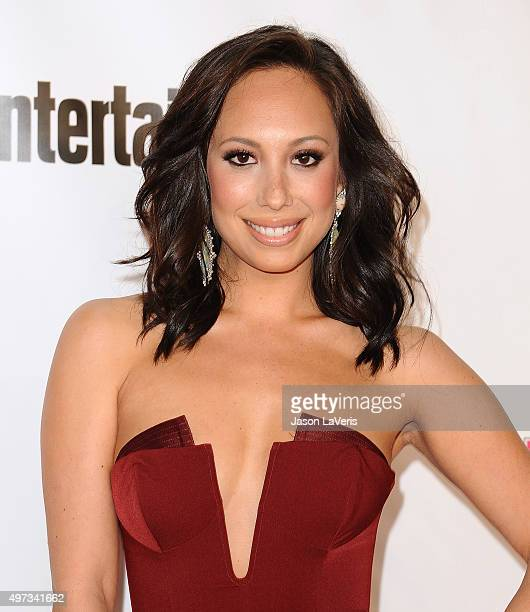 Dancer Cheryl Burke attends the VH1 Big In 2015 with Entertainment Weekly Awards at Pacific Design Center on November 15 2015 in West Hollywood...