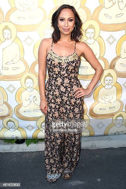 Dancer Cheryl Burke attends the Wanderlust Hollywood's grand opening celebration at Wanderlust Hollywood on July 22 2015 in Hollywood California