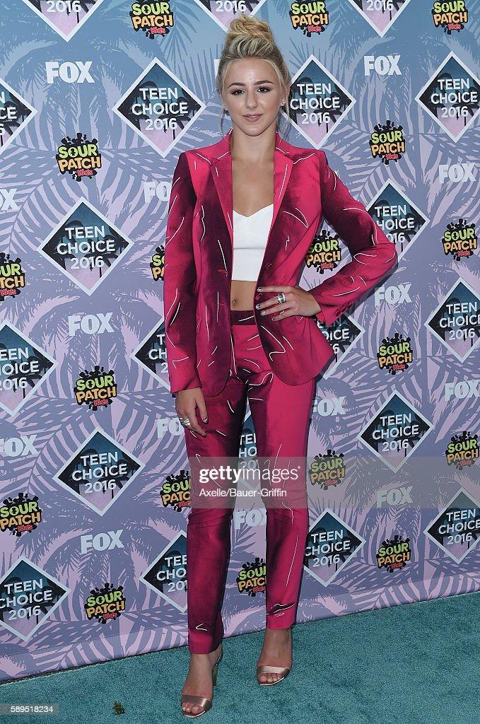 Teen Choice Awards 2016 : News Photo