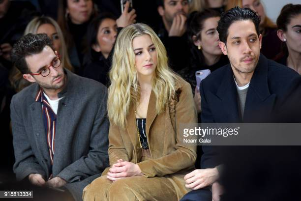 Dancer Chloe Lukasiak attends the front row for Noon by Noor during New York Fashion Week The Shows at Gallery II at Spring Studios on February 8...
