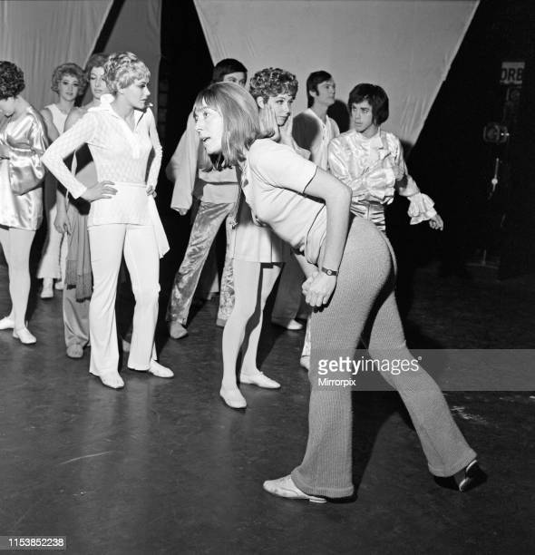 Dancer choreographer and actress Gillian Lynne during rehearsals at Sadler's Wells Theatre ahead of the first performance form the Scottish Theatre...